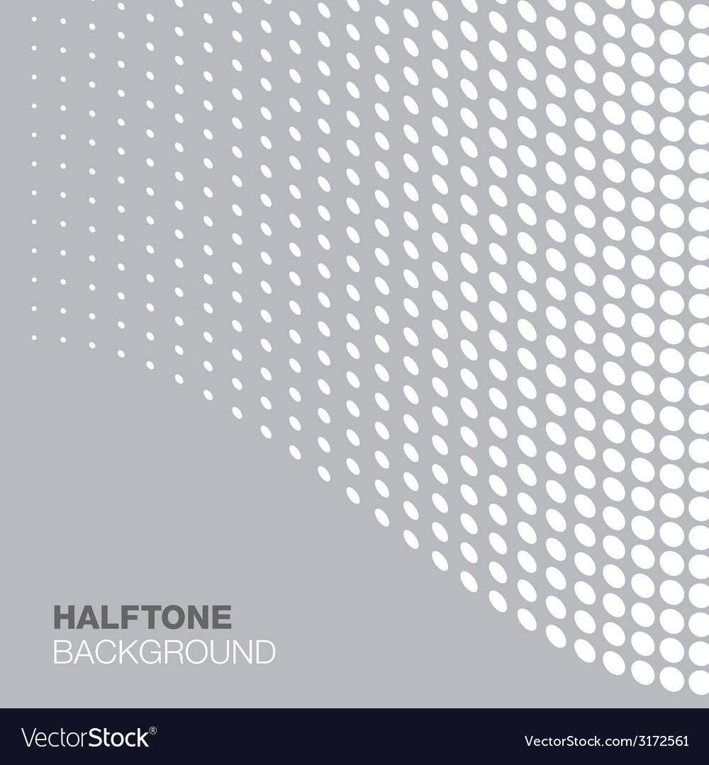 Abstract gray - white halftone background vector | Price: 1 Credit (USD $1)
