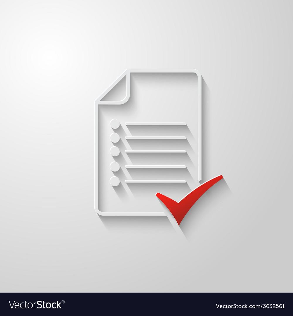 Check list icon 3 vector | Price: 1 Credit (USD $1)