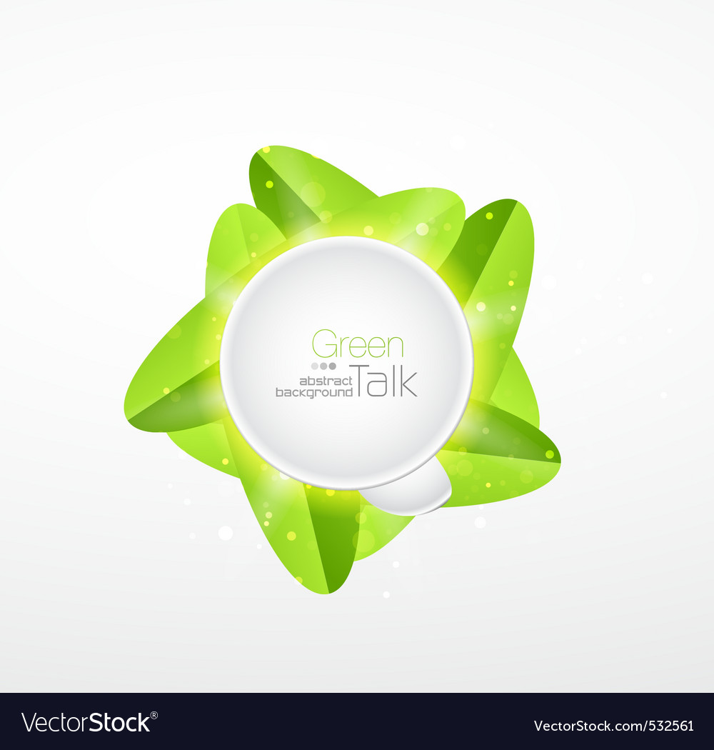 Green web icon vector | Price: 1 Credit (USD $1)