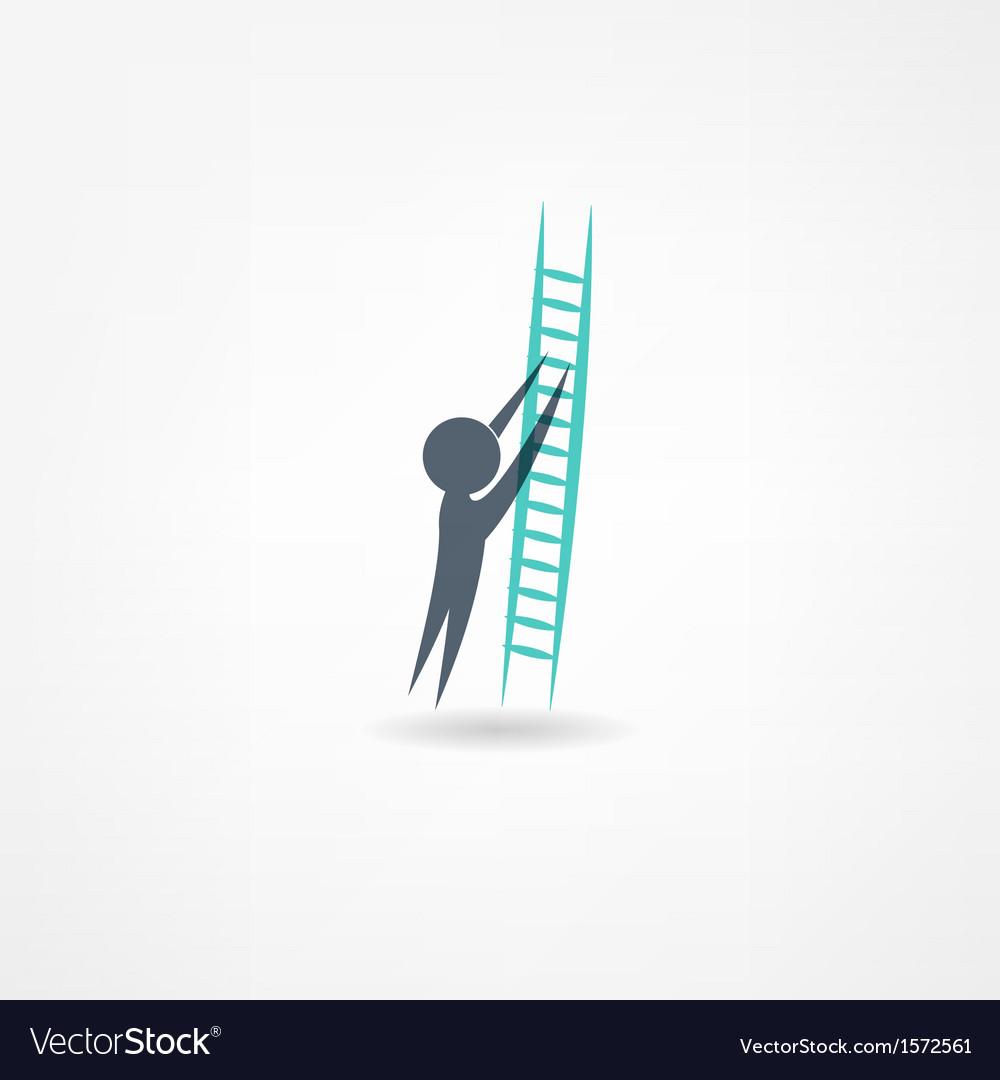 Ladder icon vector   Price: 1 Credit (USD $1)