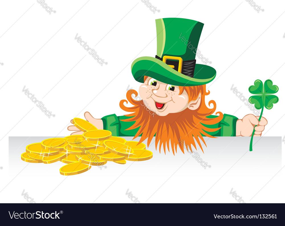 Leprechaun vector   Price: 1 Credit (USD $1)