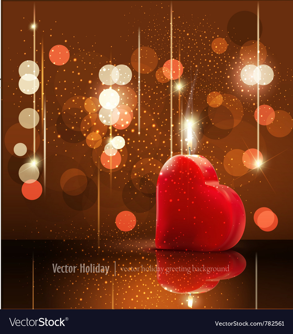 Romantic background vector | Price: 3 Credit (USD $3)