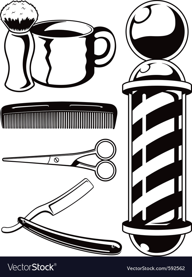Barbershop vector | Price: 1 Credit (USD $1)