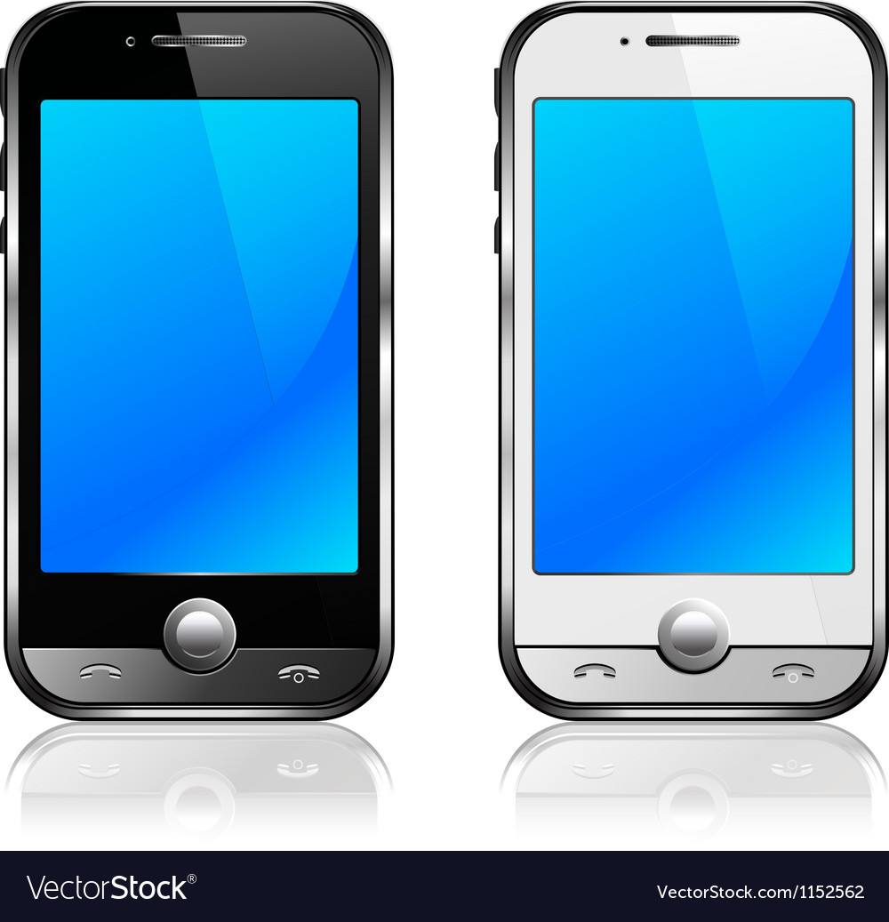Cell phones vector | Price: 1 Credit (USD $1)