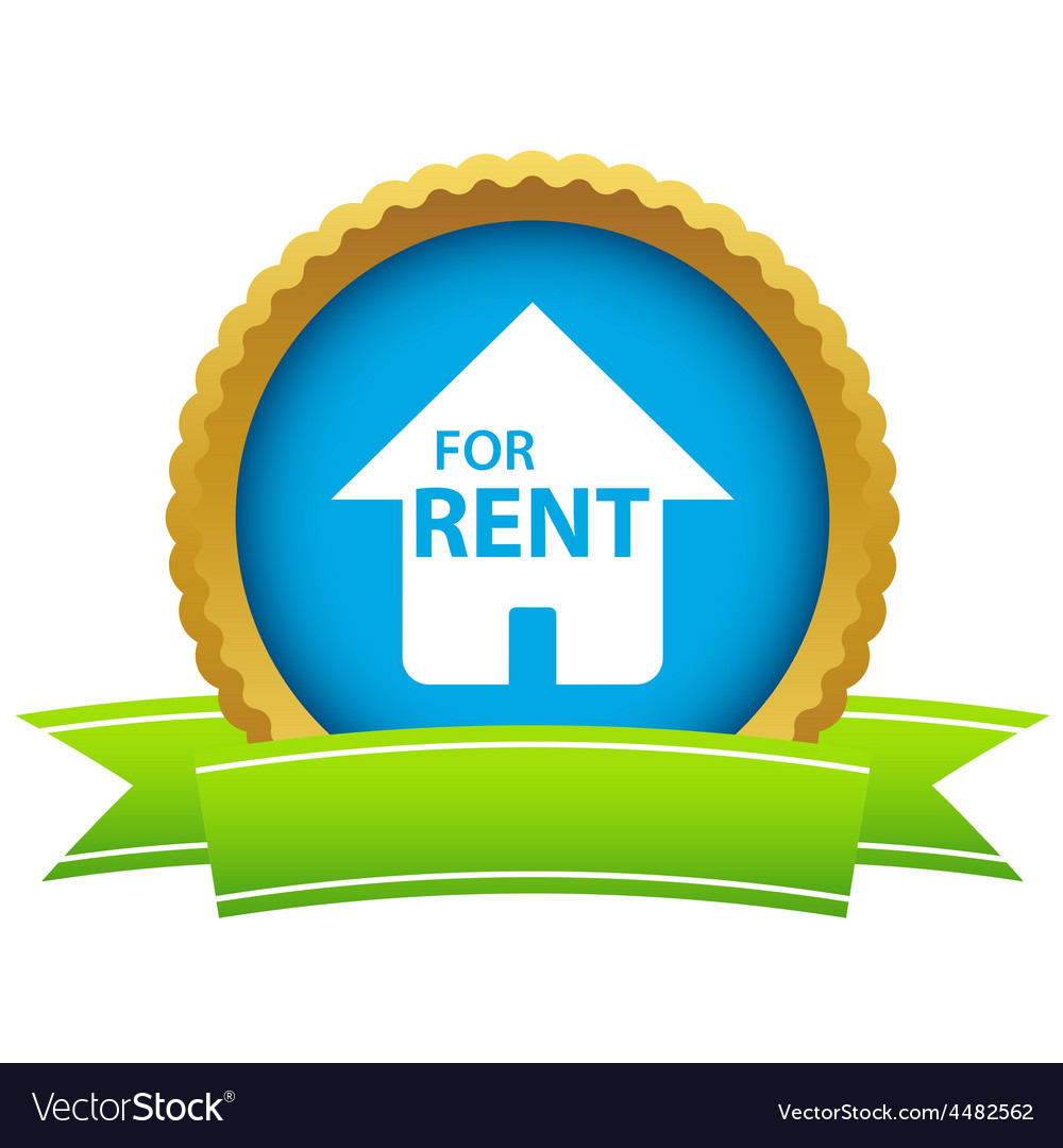 Gold for rent logo vector | Price: 1 Credit (USD $1)