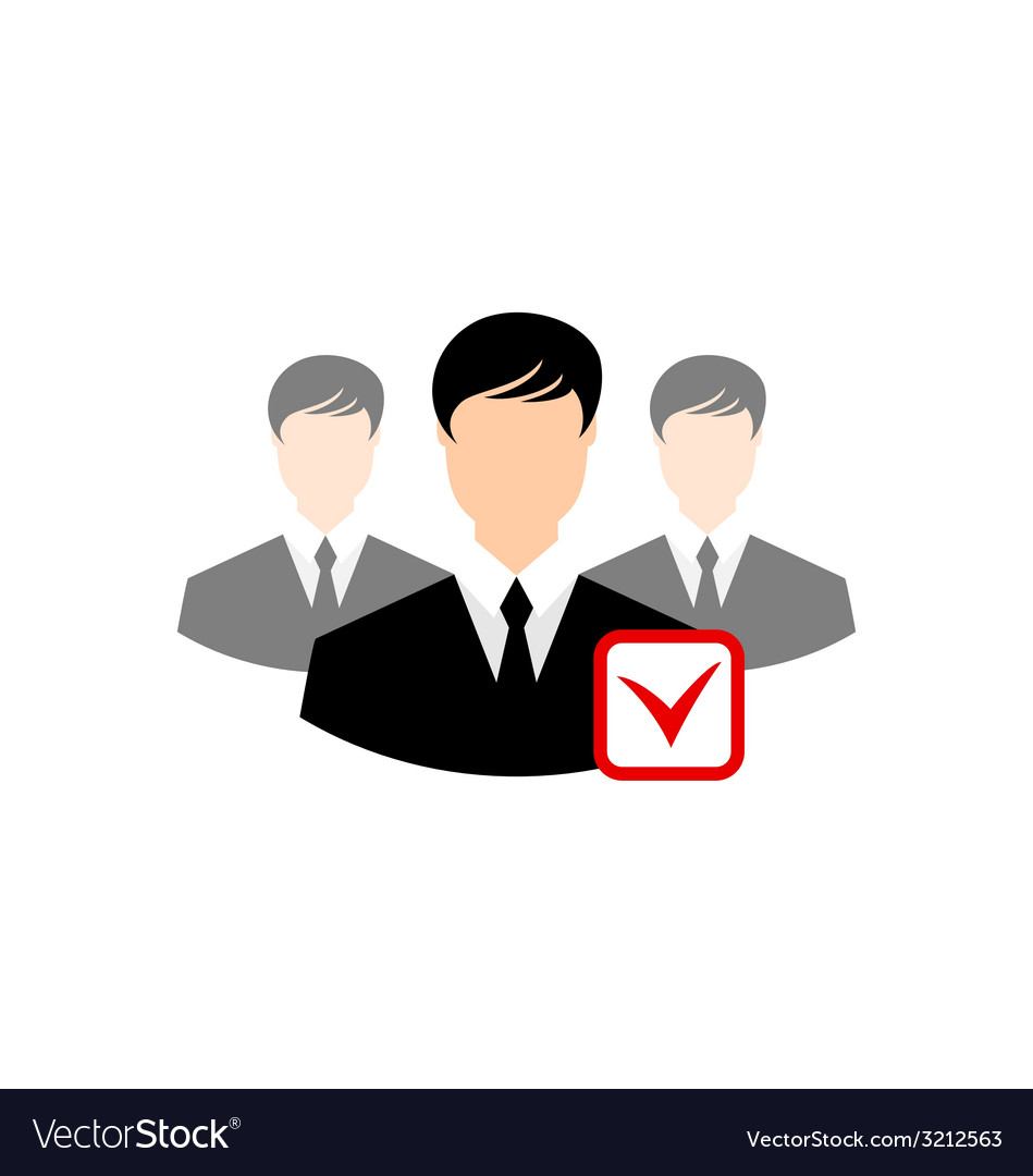 Avatar set front portrait office employee team for vector | Price: 1 Credit (USD $1)