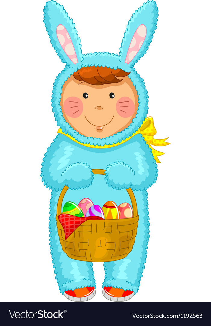 Easter coustume vector | Price: 3 Credit (USD $3)