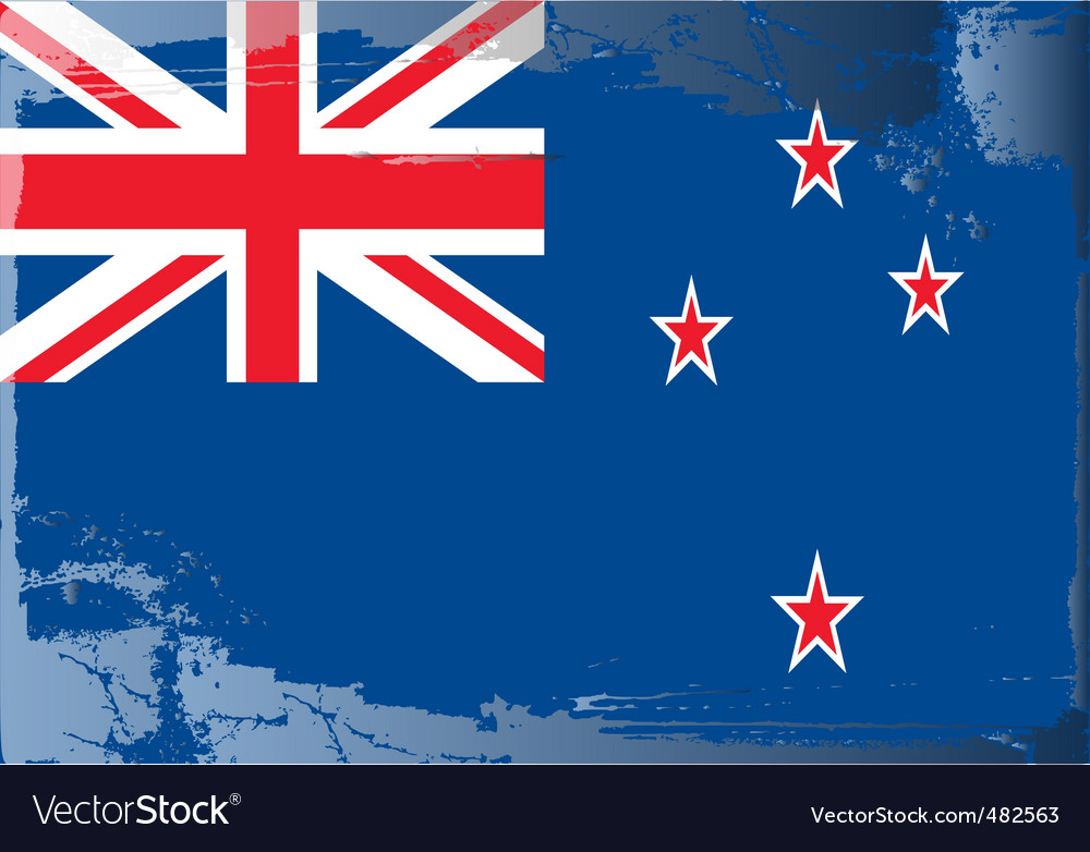 New zealand national flag vector   Price: 1 Credit (USD $1)