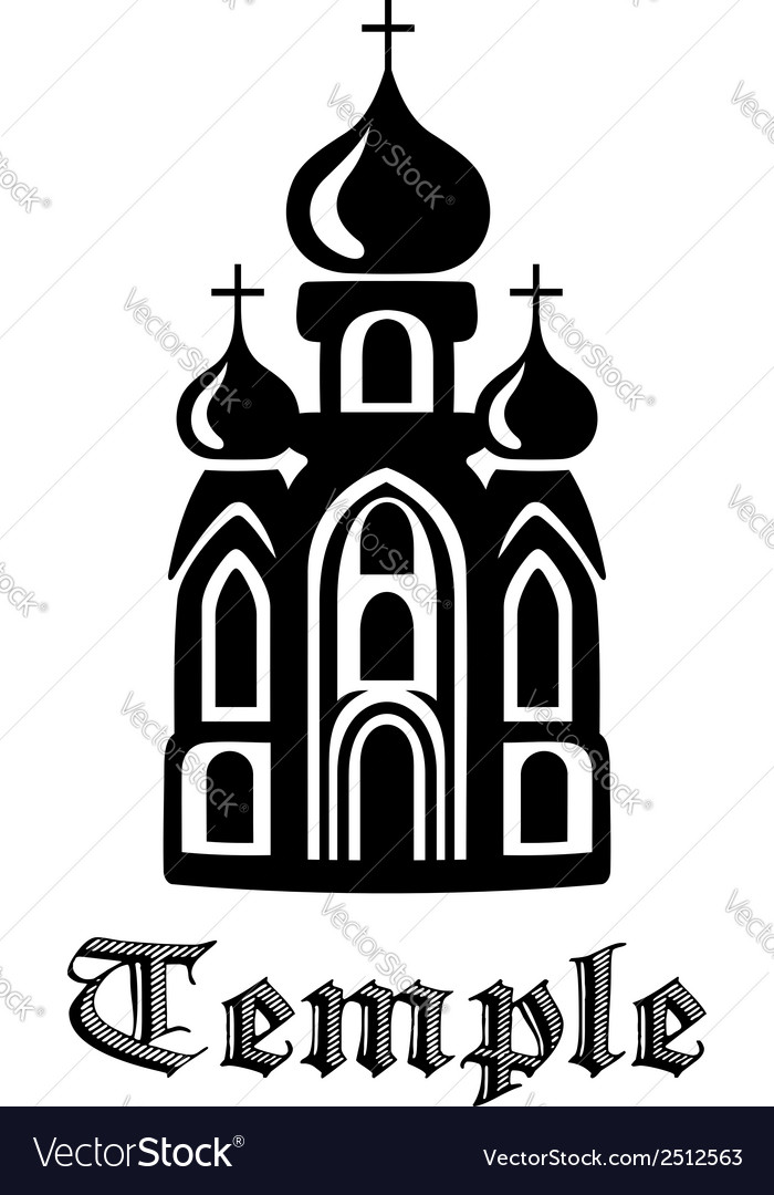 Temple icon vector | Price: 1 Credit (USD $1)