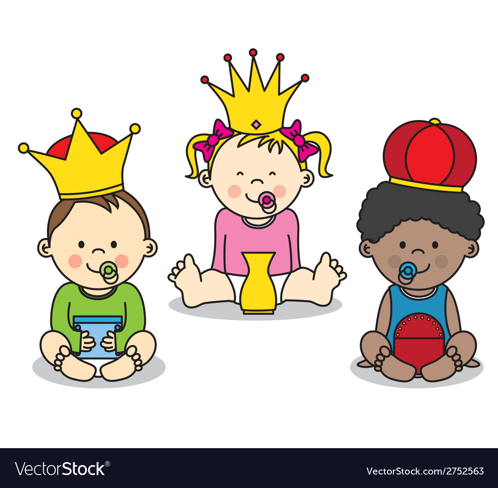 Three kings vector | Price: 1 Credit (USD $1)