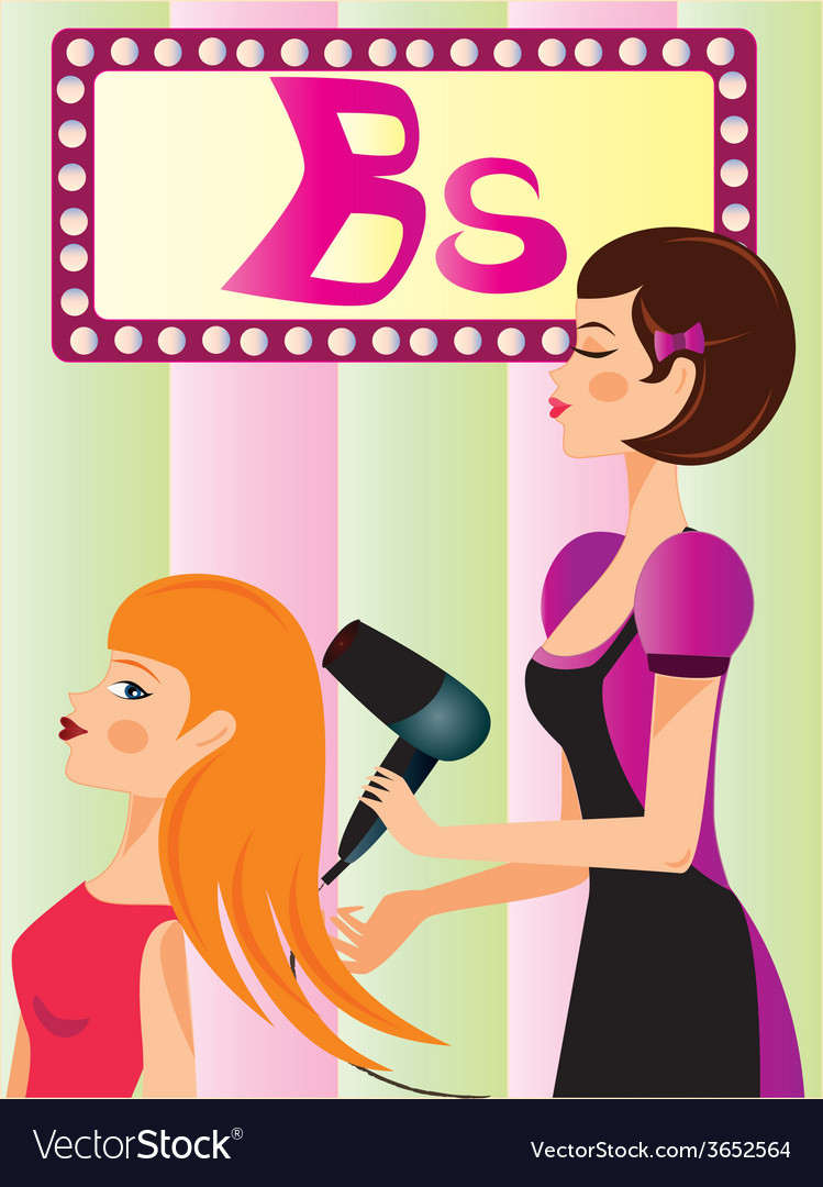 Beauty-parlor vector | Price: 1 Credit (USD $1)