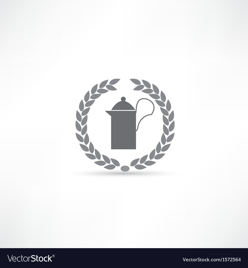 Kettle icon vector | Price: 1 Credit (USD $1)