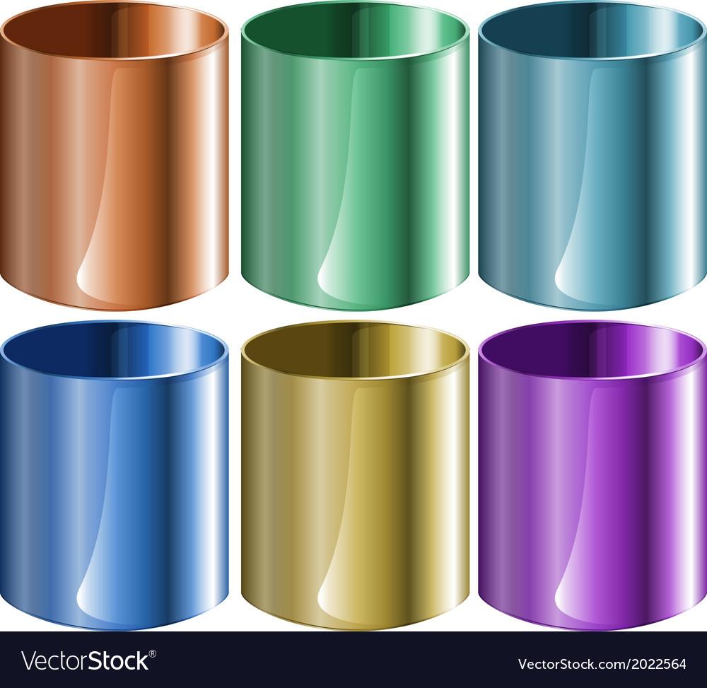 Lab beakers vector | Price: 1 Credit (USD $1)
