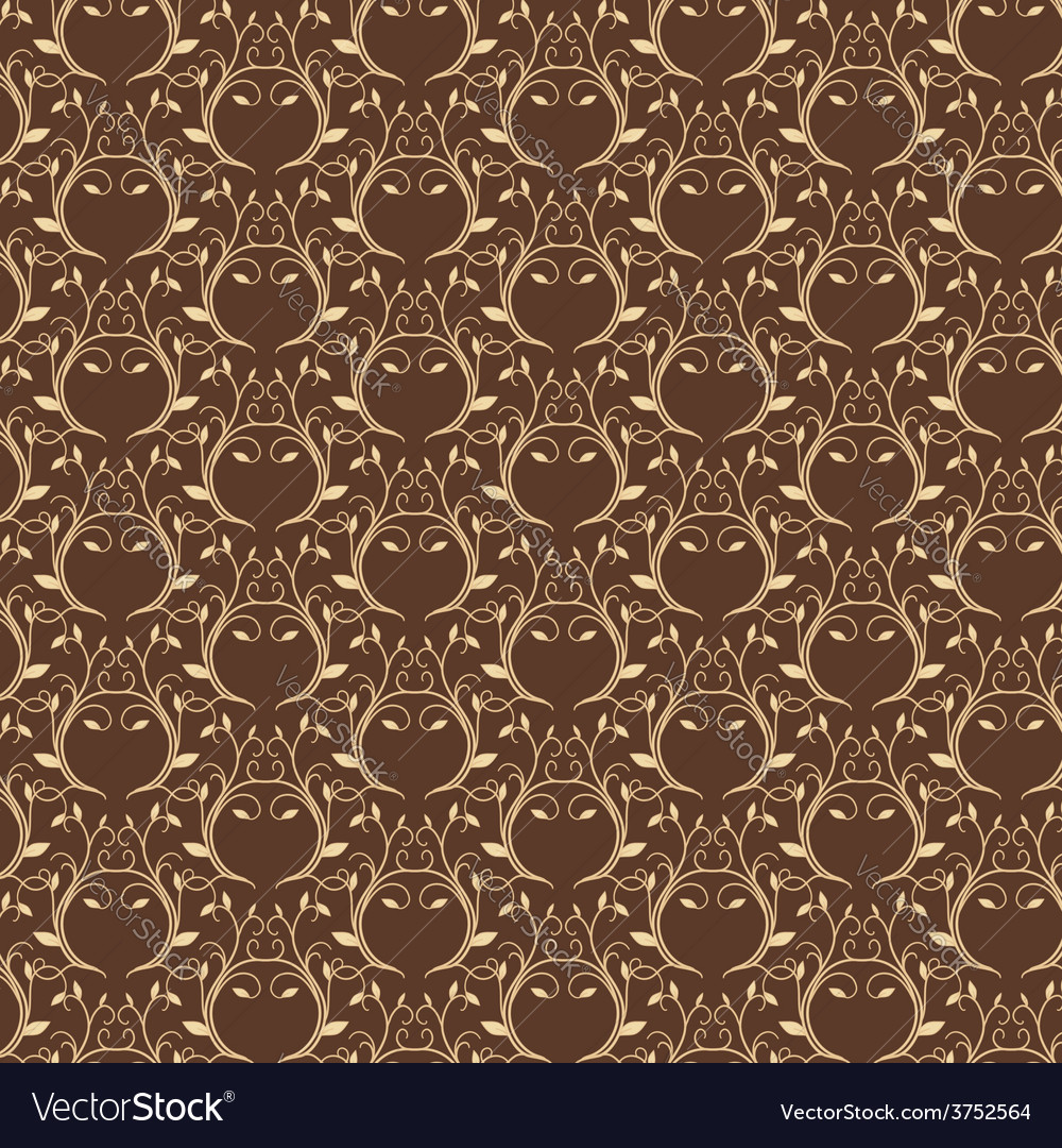 Luxury gold seamless pattern vector | Price: 1 Credit (USD $1)