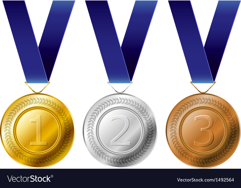 Medal award set vector | Price: 1 Credit (USD $1)