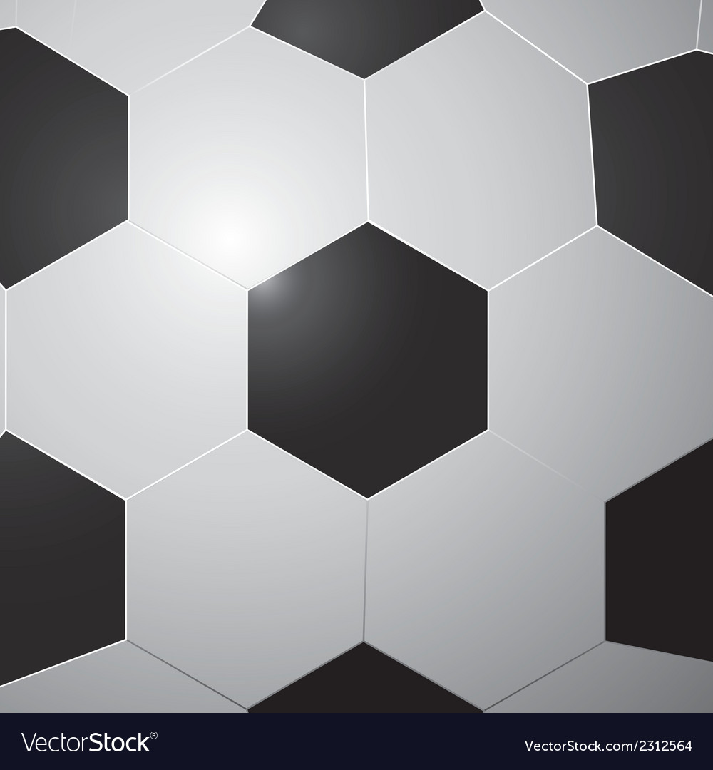 Pattern of soccer ball vector | Price: 1 Credit (USD $1)