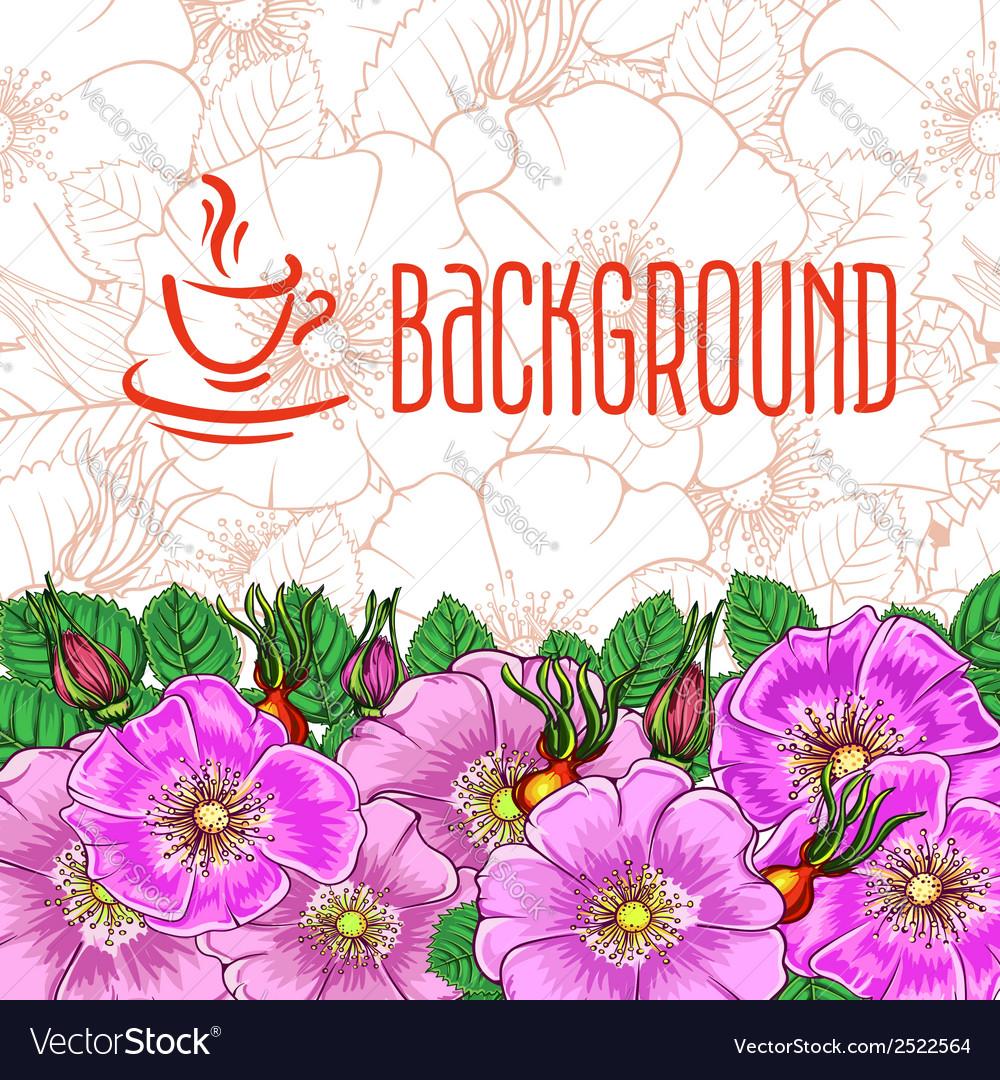 Tea background vector   Price: 1 Credit (USD $1)