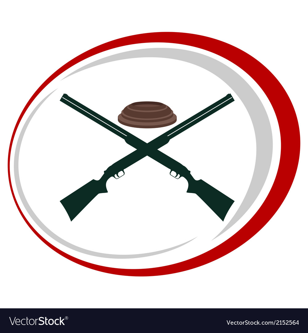 Trap shooting-2 vector | Price: 1 Credit (USD $1)