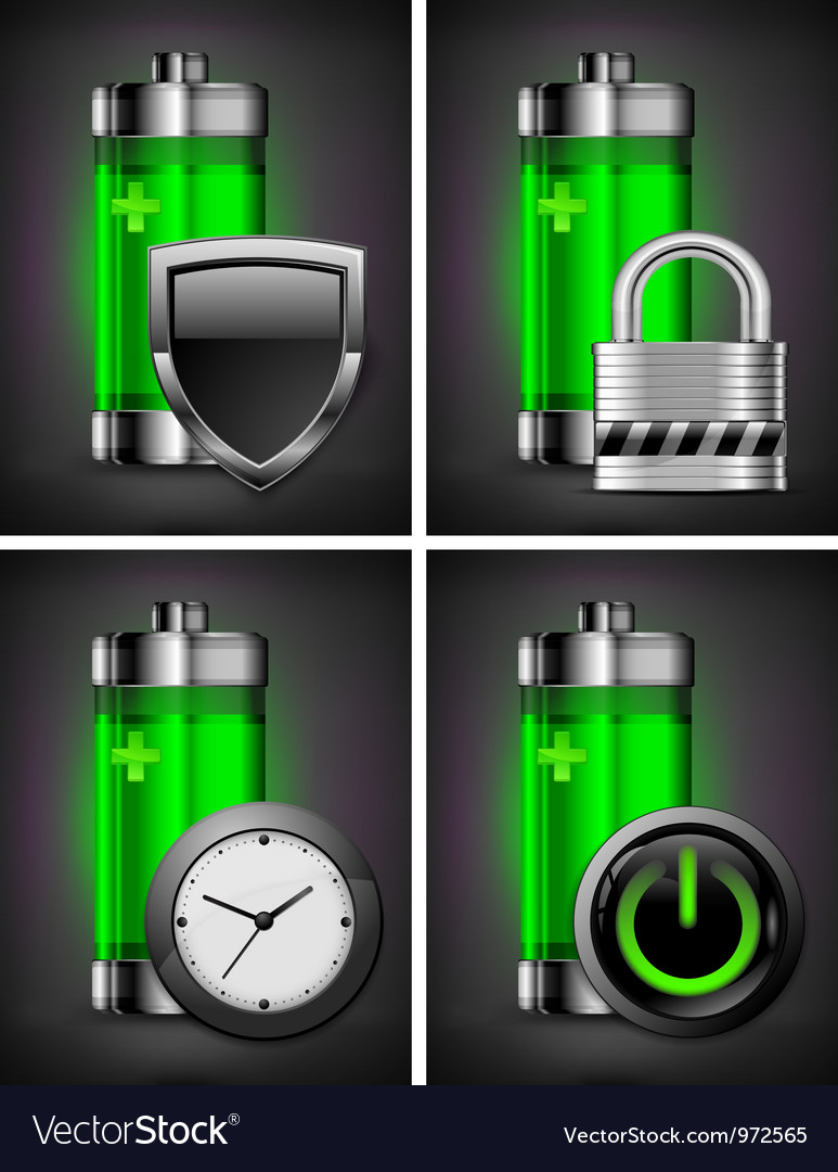 Charge energy battery power vector | Price: 3 Credit (USD $3)