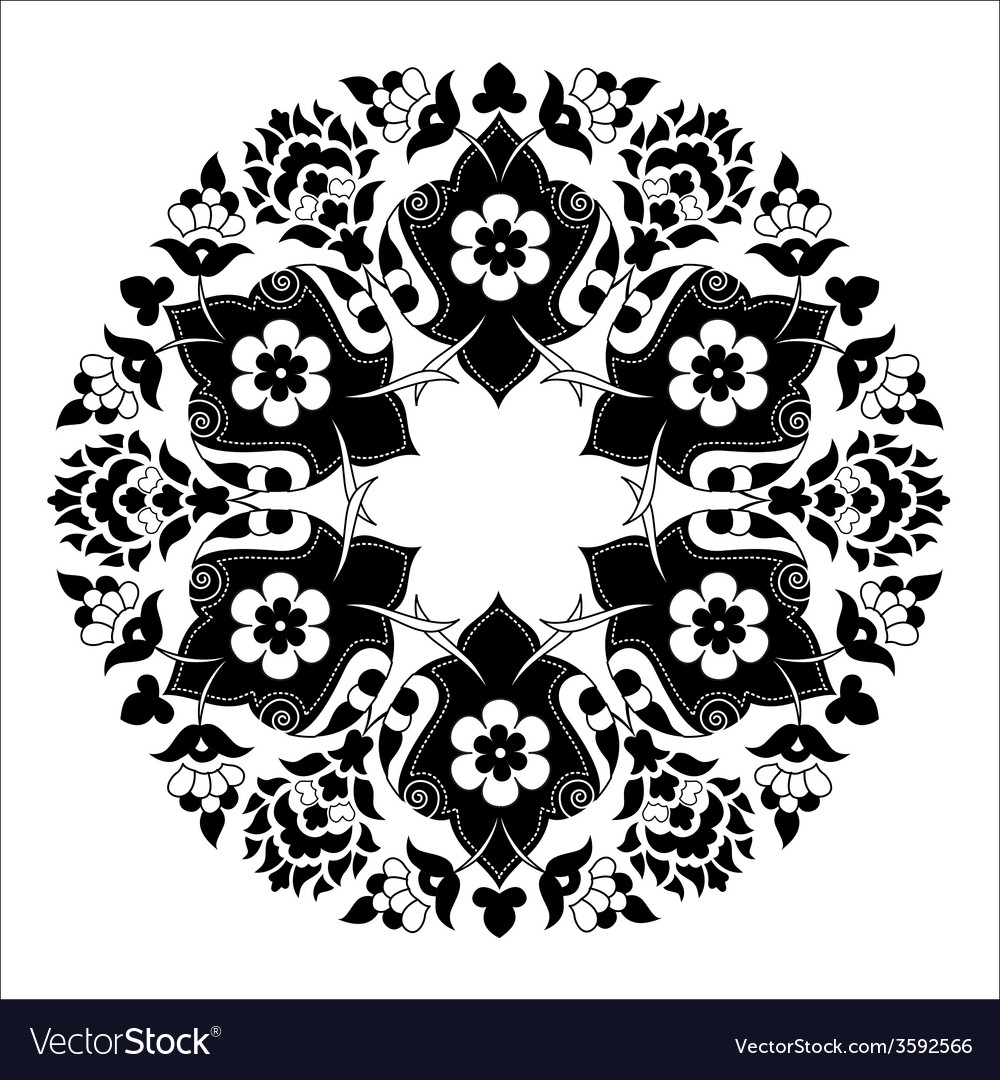 Artistic ottoman pattern series seven vector | Price: 1 Credit (USD $1)