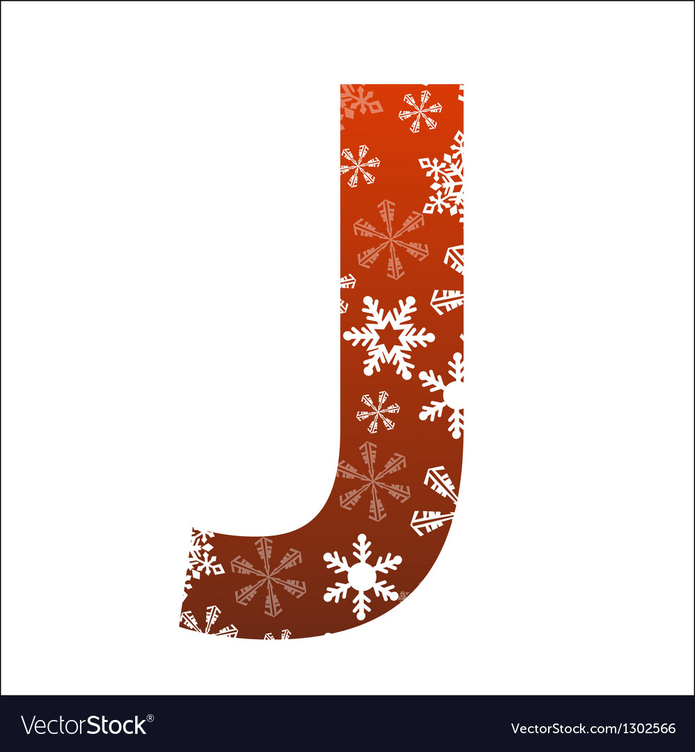 J letter vector | Price: 1 Credit (USD $1)