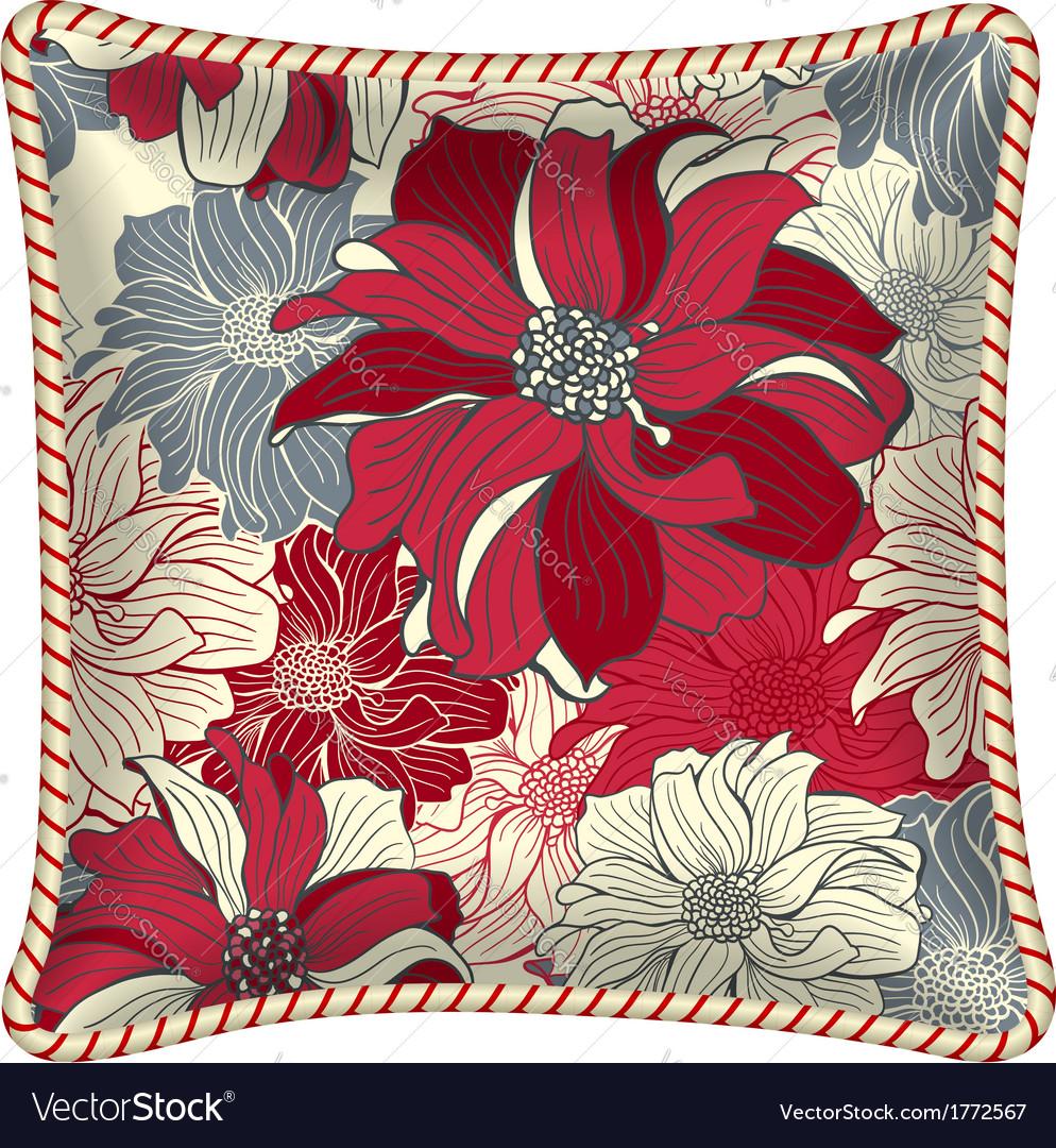 Decorative pillow vector   Price: 1 Credit (USD $1)