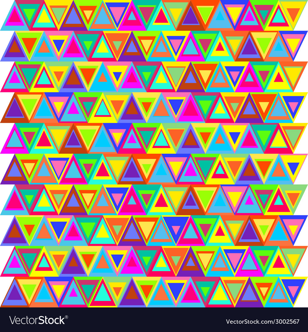 Seamless nested triangle pattern vector | Price: 1 Credit (USD $1)