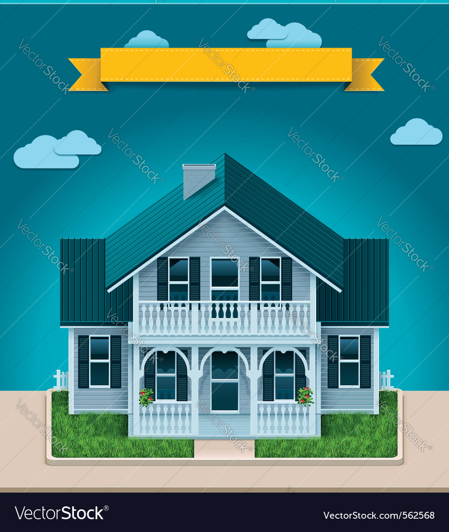 Cottage xxl icon vector | Price: 1 Credit (USD $1)