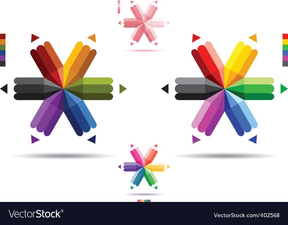 Pencil logos vector | Price: 3 Credit (USD $3)