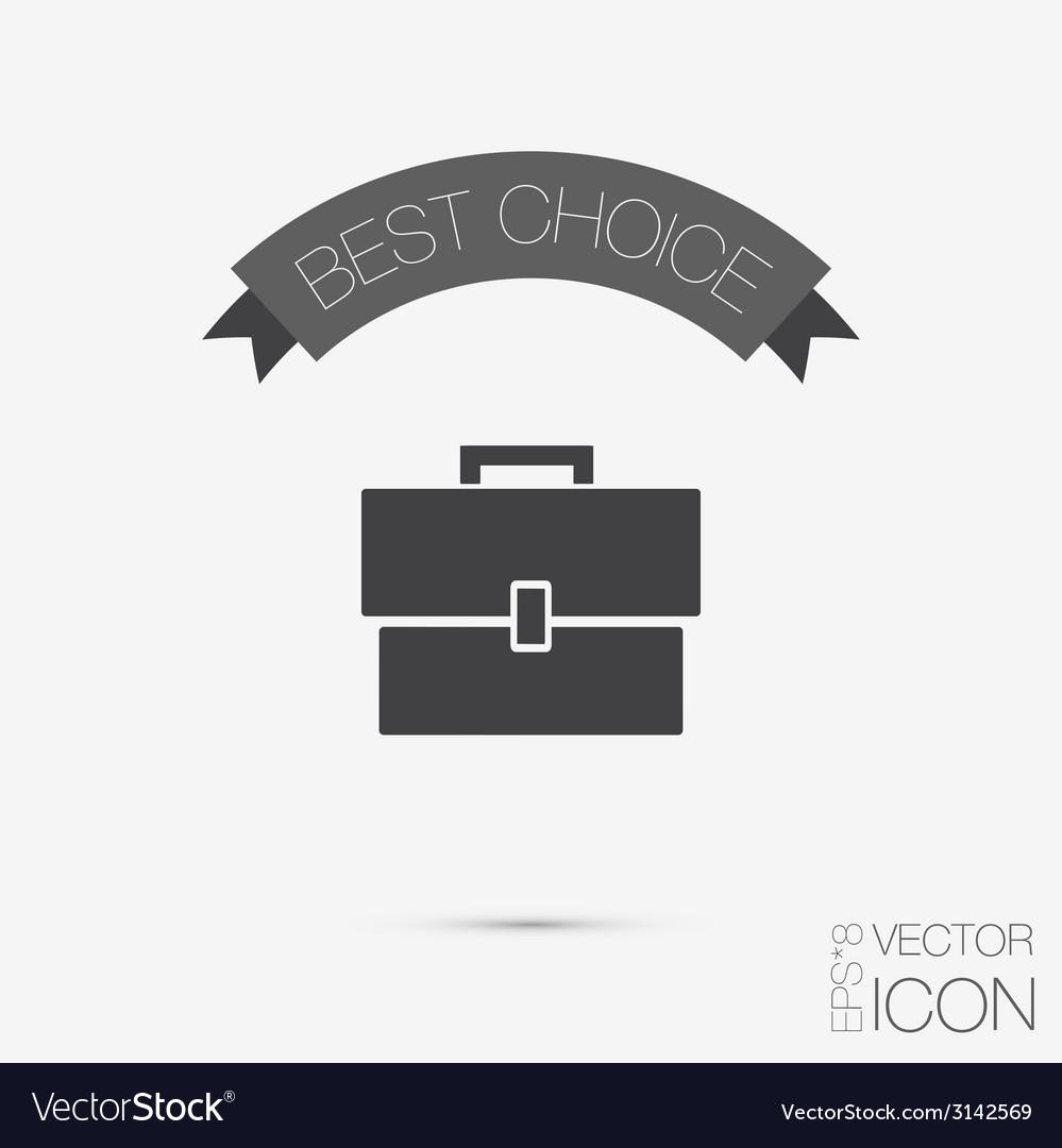Briefcase vector | Price: 1 Credit (USD $1)