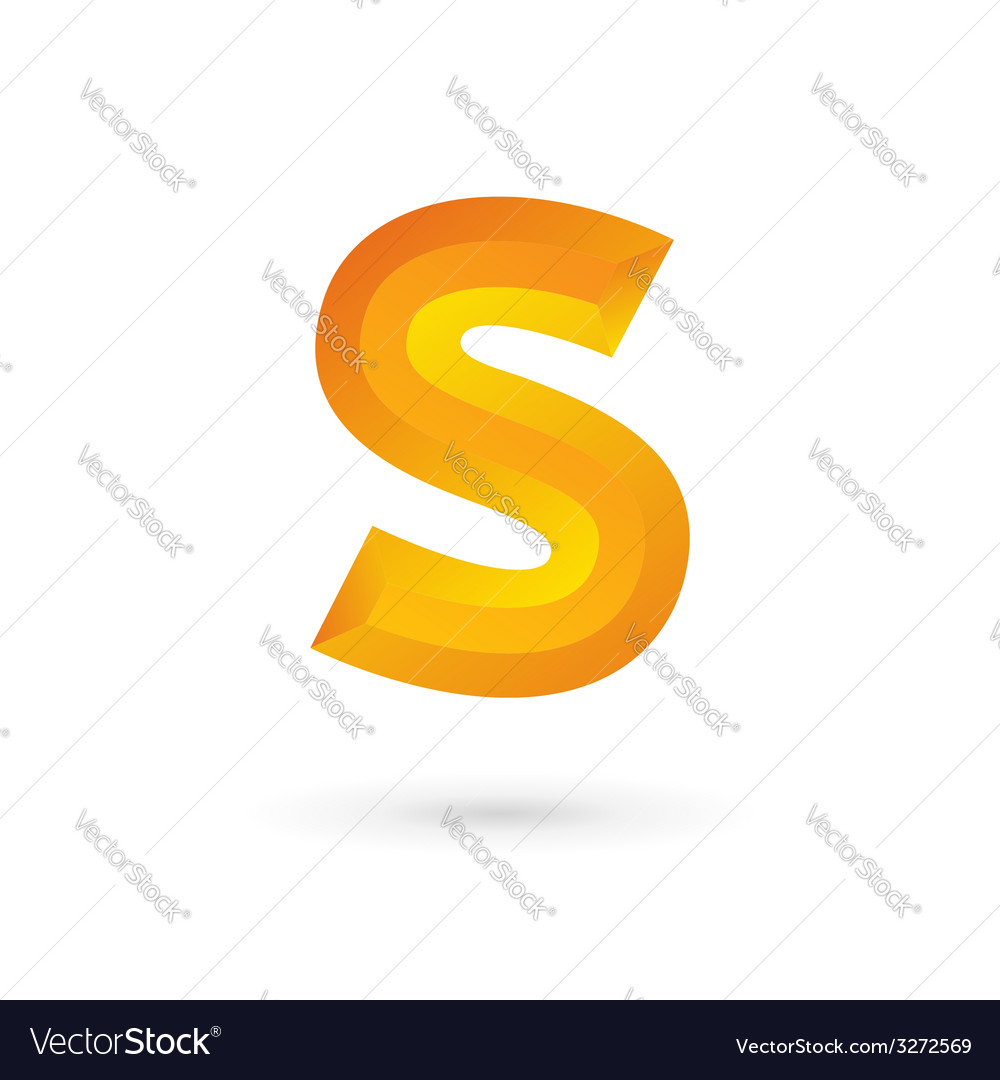 Letter s logo icon design template elements vector | Price: 1 Credit (USD $1)
