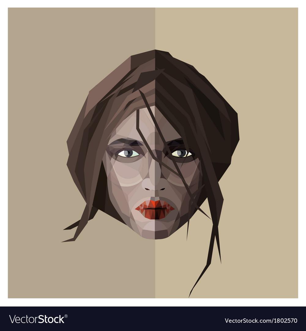 Femme fatale vector | Price: 1 Credit (USD $1)