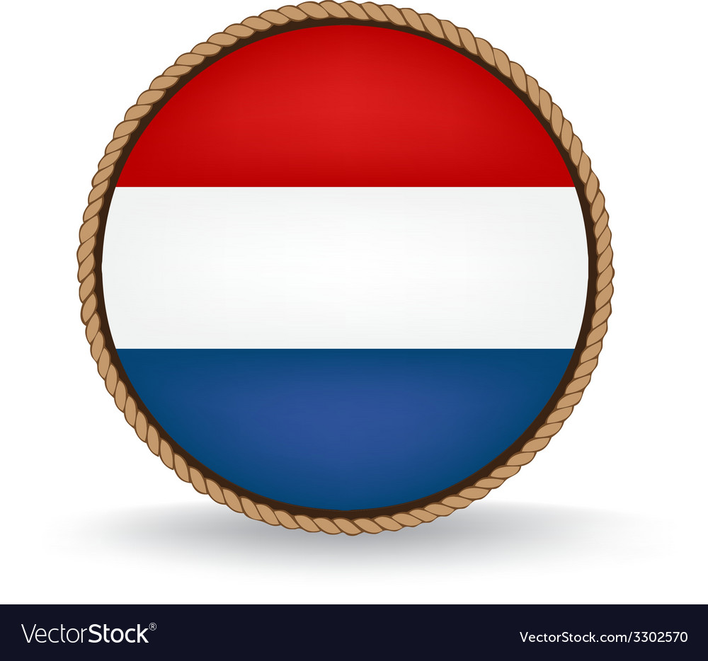 Netherlands seal vector | Price: 1 Credit (USD $1)