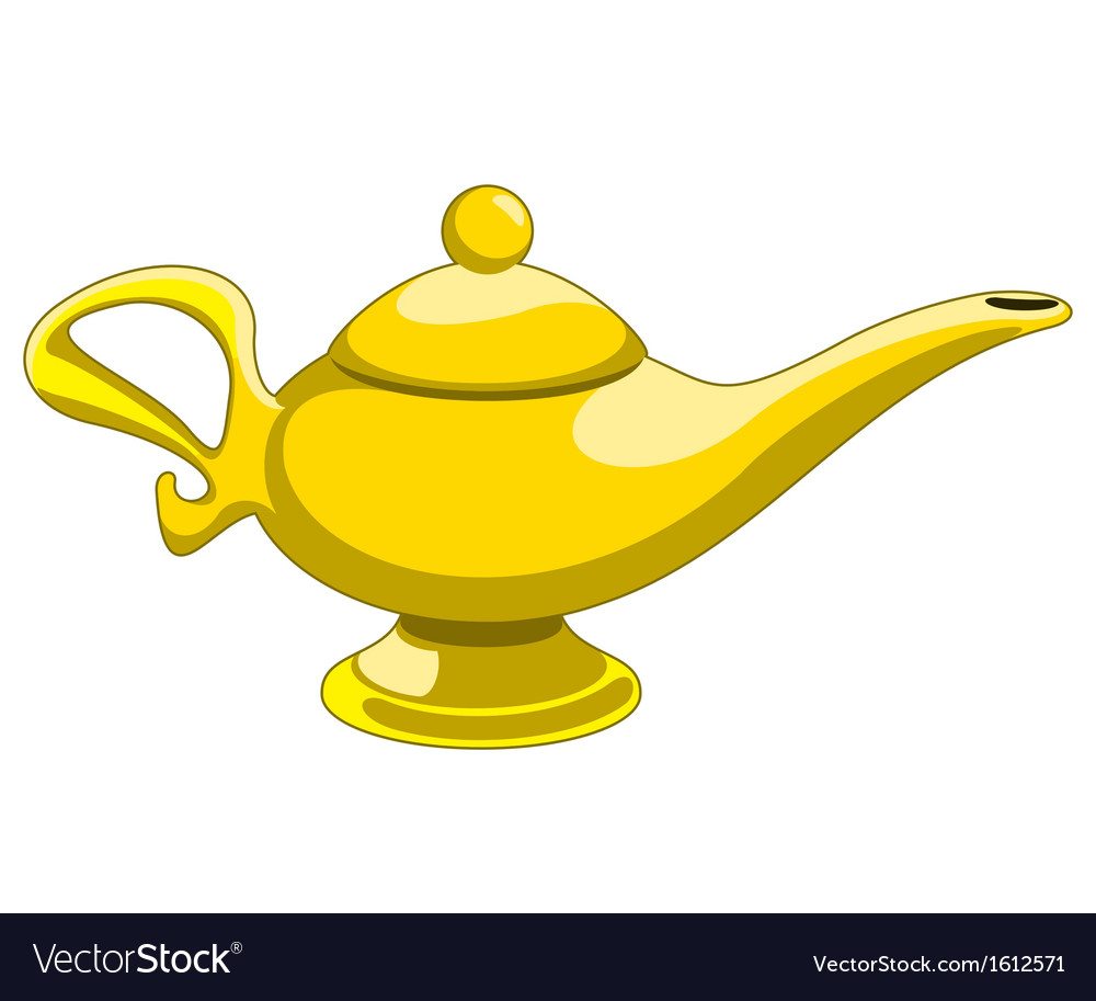 Aladdins lamp vector | Price: 1 Credit (USD $1)