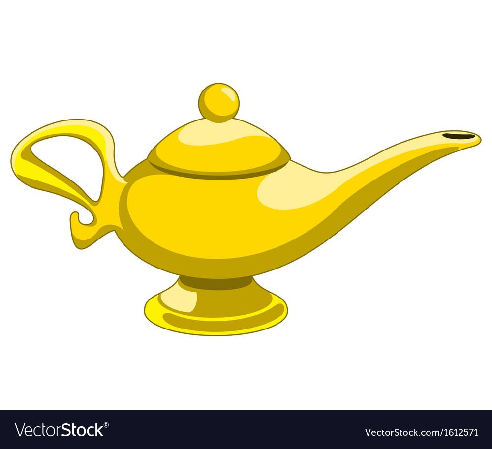 Aladdins lamp vector | Price: 1 Credit (USD $1)