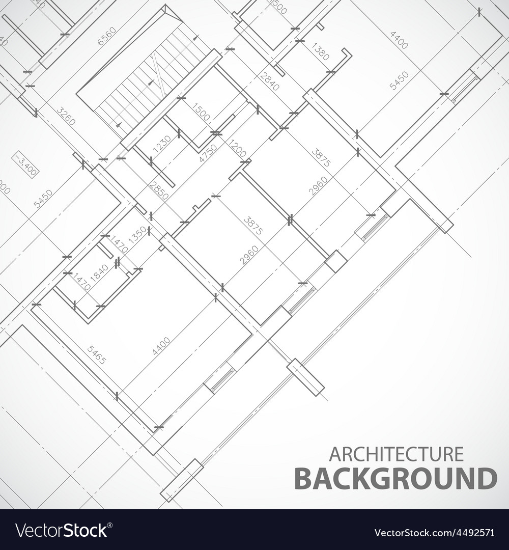 Black architecture plan vector | Price: 1 Credit (USD $1)
