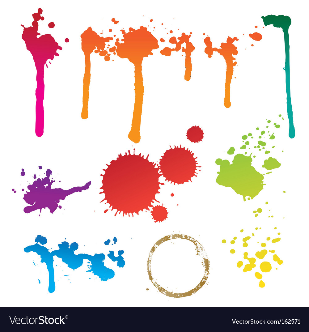 Colorful stain vector | Price: 1 Credit (USD $1)