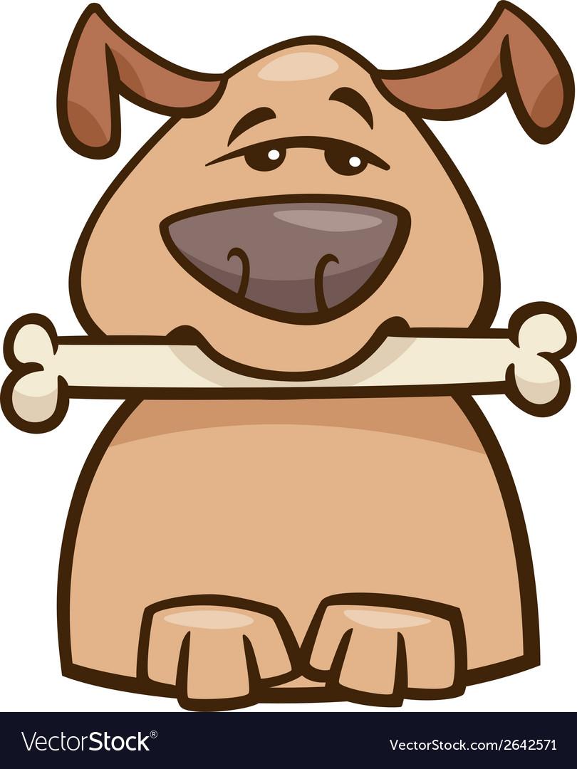Mood busy dog cartoon vector | Price: 1 Credit (USD $1)