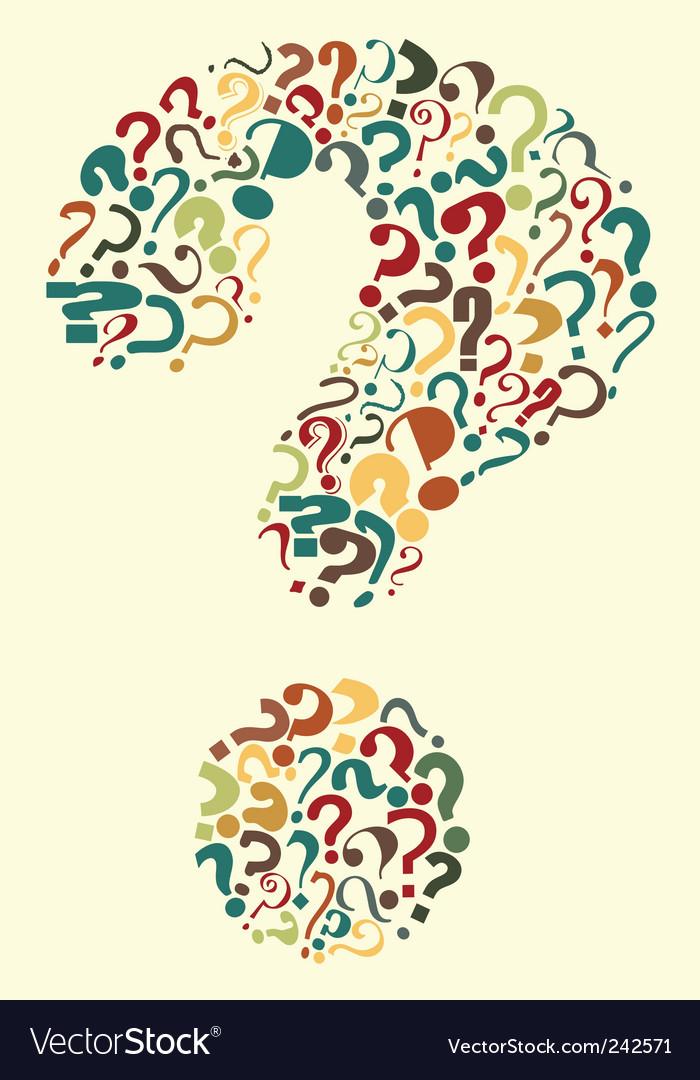 Questions vector