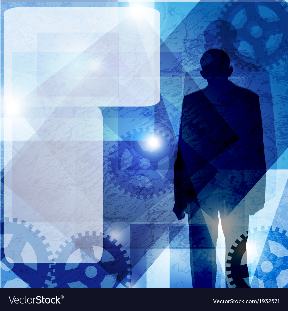 Runge business man background space for text vector   Price: 1 Credit (USD $1)