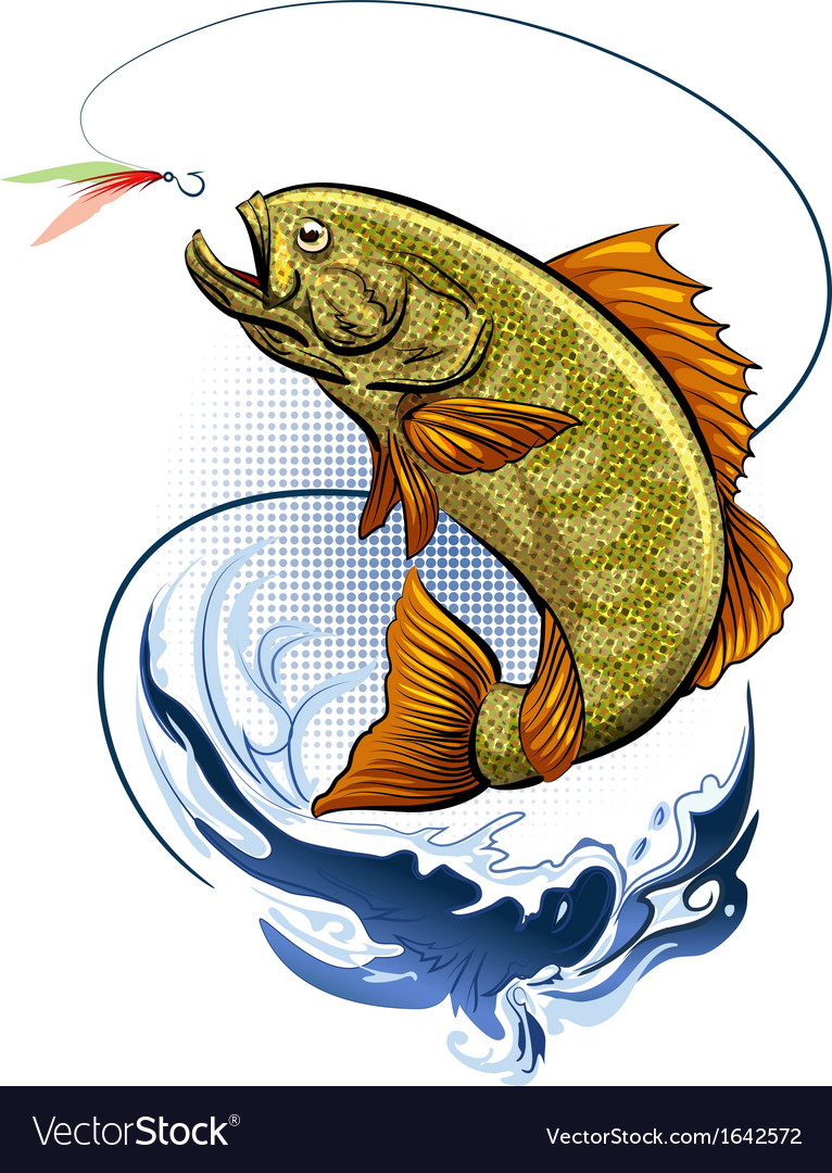 The fishing vector | Price: 3 Credit (USD $3)