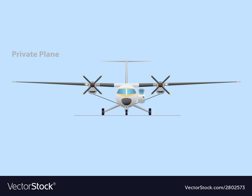 Private plane vector | Price: 1 Credit (USD $1)