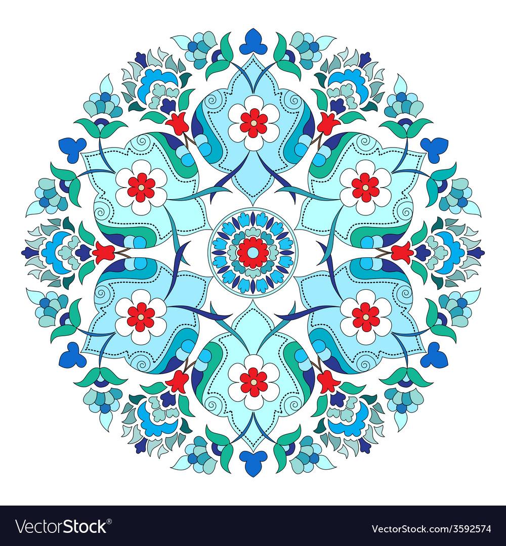 Artistic ottoman pattern series twelve vector   Price: 1 Credit (USD $1)
