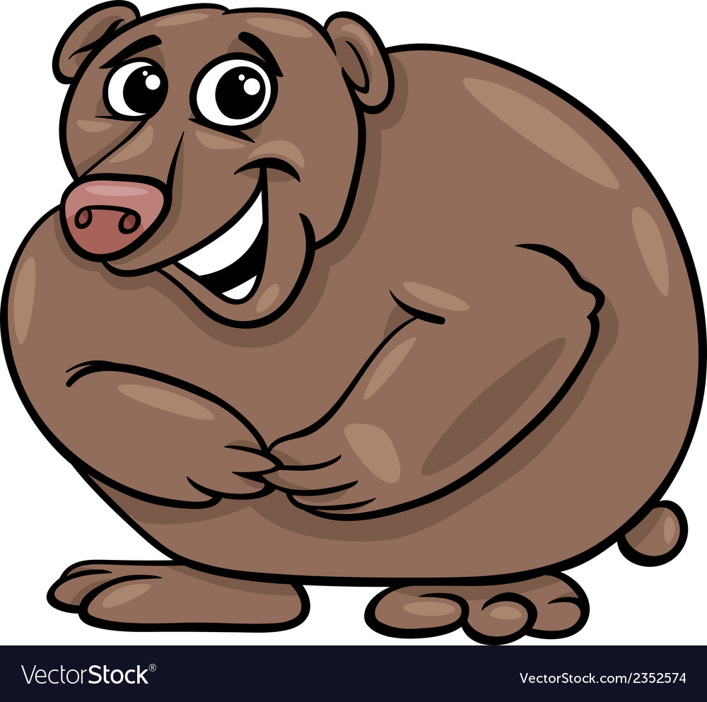 Bear animal cartoon vector | Price: 1 Credit (USD $1)