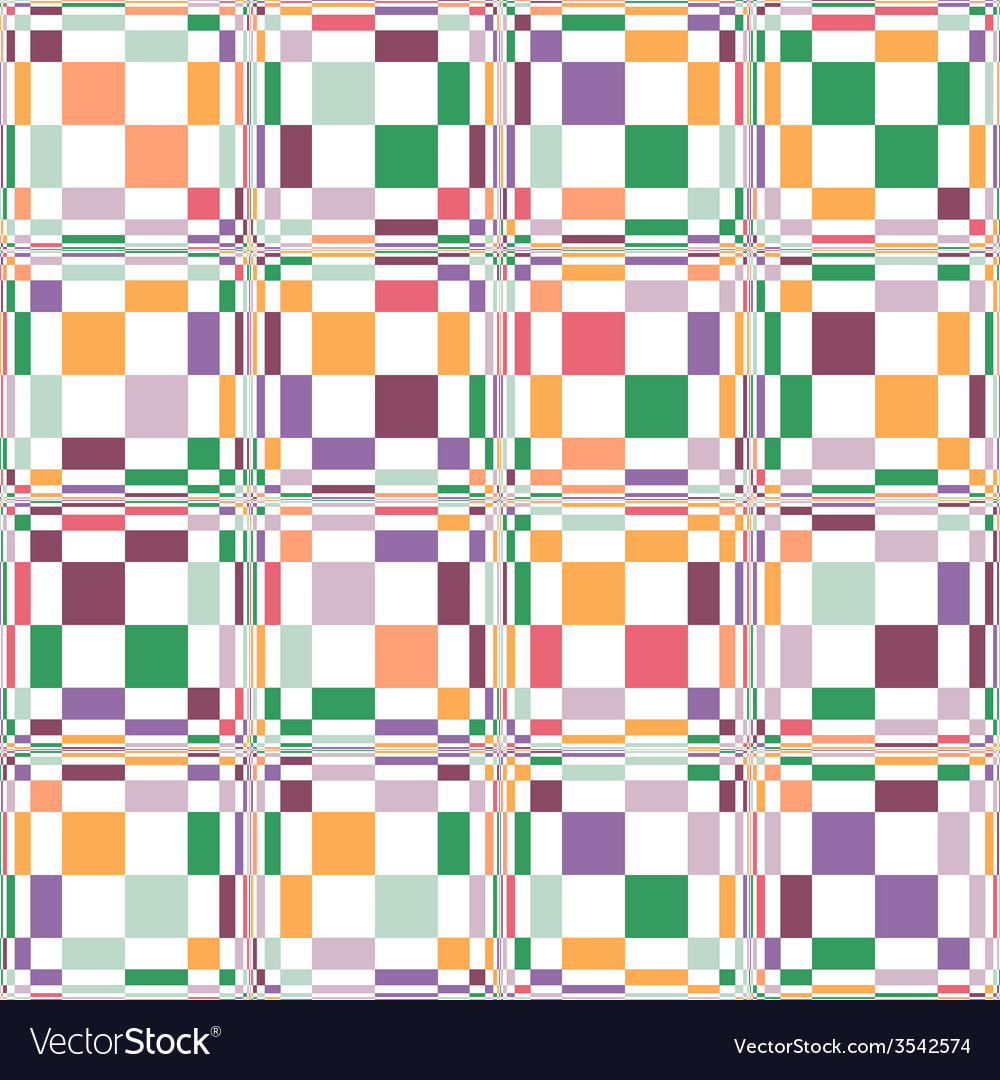 Rectangle seamless pattern vector | Price: 1 Credit (USD $1)