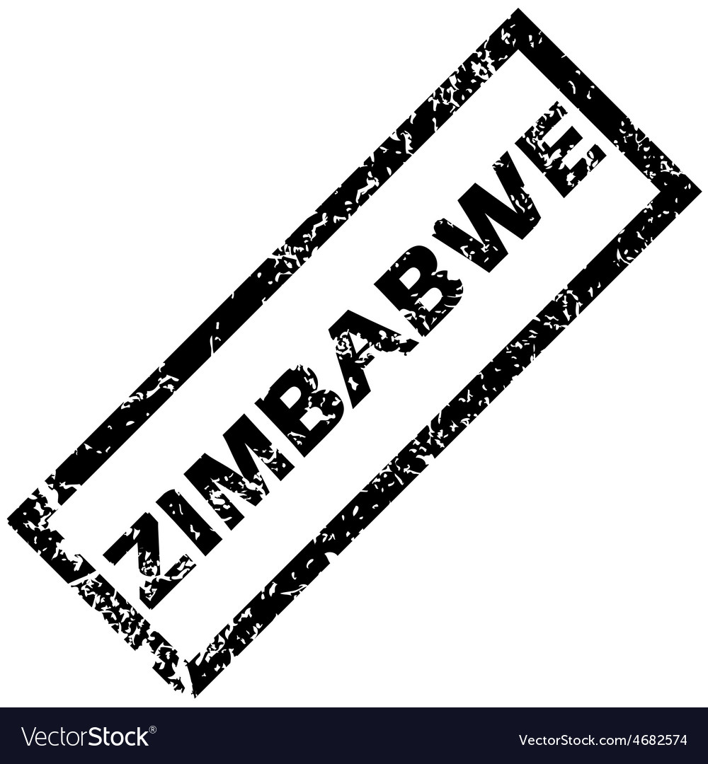 Zimbabwe rubber stamp vector | Price: 1 Credit (USD $1)