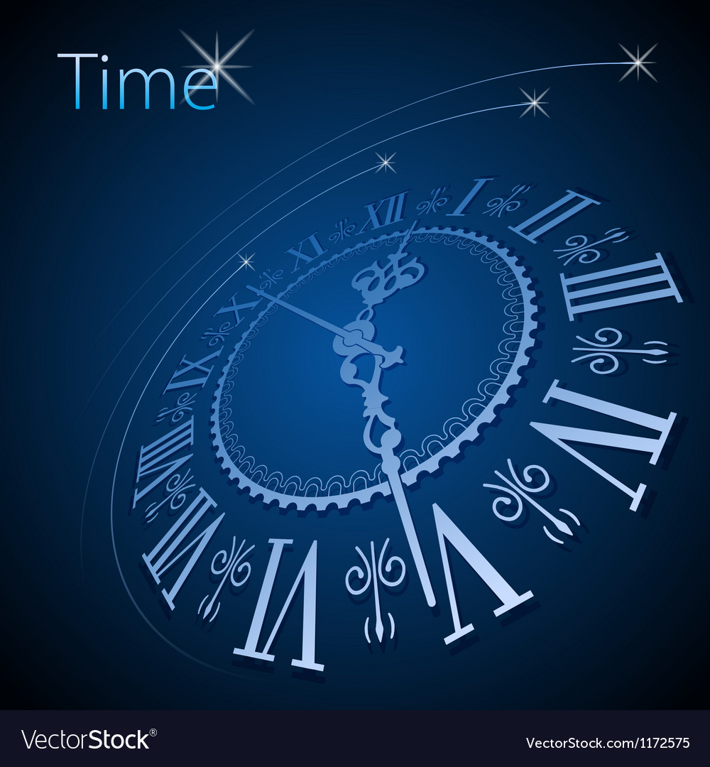 Abstract clock background - conceptual vector | Price: 1 Credit (USD $1)