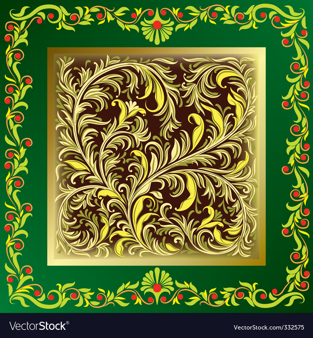 Floral ornament vector | Price: 3 Credit (USD $3)