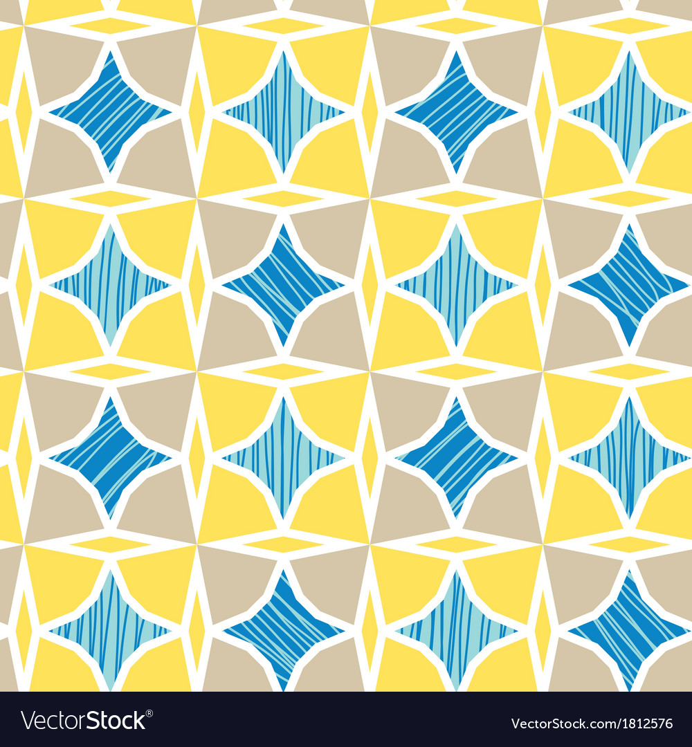 Blue and yellow marble textured tiles seamless vector | Price: 1 Credit (USD $1)