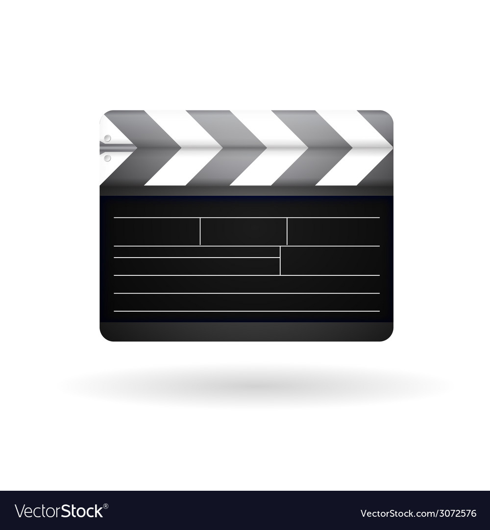 Clapboard vector | Price: 1 Credit (USD $1)